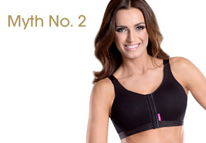Myth No. 2: It is not recommended to wear any bra for a certain period of time after the surgery.